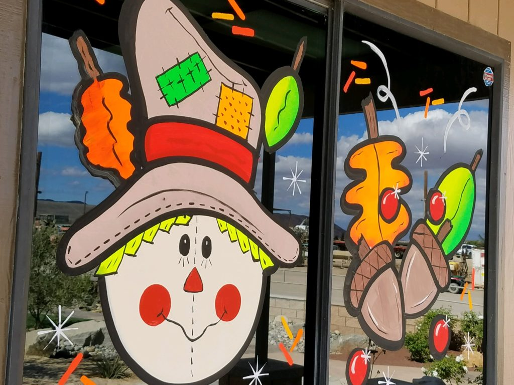 Holiday Window Painting Free Estimates Call Now 760 475 3242